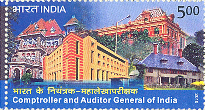 Postage Stamp on Comptroller And Auditor General Of India