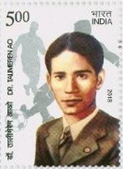 Indian Postage Stamp on Dr Talimeren