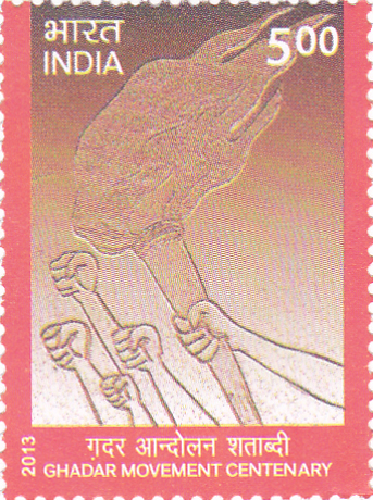 Postage Stamp on Ghadar Movement Centenary