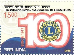 Postage Stamp on The International Association of Lions Clubs
