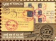 Postage Stamp on 100 Years Of Airmail