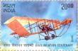 Postage Stamp on Civil Aviation Centenary
