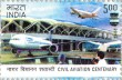Postage Stamp on Civil Aviation Centenary