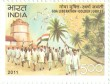Postage Stamp on Goa Liberation - Golden Jubilee