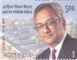 Postage Stamp on Aditya Vikram Birla 