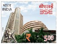 Postage Stamp on BSE