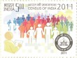 Postage Stamp on Census Of India 2011