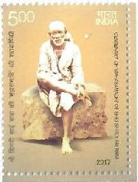 Postage Stamp on CENTENARY OF MAHASAMADHI OF SHRI SHIRDI SAI BABA
