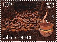 Postage Stamp on COFFEE