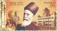 Postage Stamp on Dadabhai Naoroji