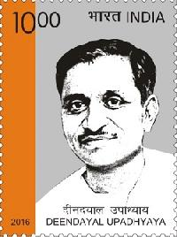 Indian Postage Stamp on Deendayal Upadhyaya