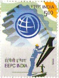 Indian Postage Stamp on EEPC India