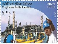 Indian Postage Stamp on Engineers India Limited
