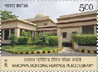Indian Postage Stamp on Hardayal stamp