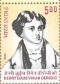 Indian Postage Stamp on Henry Louis Vivian Derozio