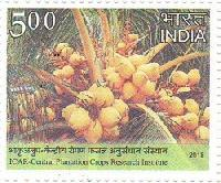 Postage Stamp on ICAR- Central Plantation Crops Research Institute