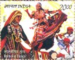 Indian Postage Stamp on India-mexico: Joint Issue 