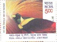 Postage Stamp on India – Papua New Guinea