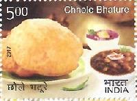 Indian Postage Stamp on INDIAN CUISINE