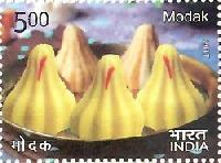 Postage Stamp on INDIAN CUISINE