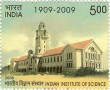 Indian Postage Stamp on Indian Institute Of Science
