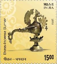 Postage Stamp on Indian Metal Crafts