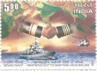 Indian Postage Stamp on Indian Navy