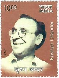 Postage Stamp on Krishan Chander