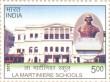 Postage Stamp on La Martiniere Schools