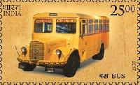 Postage Stamp on Means of Transport