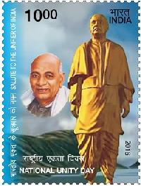Postage Stamp on National Unity Day Salute to the Unifier of India