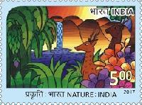 Postage Stamp on Nature