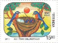 Postage Stamp on NEST