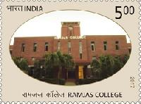 Postage Stamp on Ramjas College