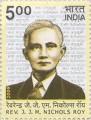 Postage Stamp on Rev. J. J. M. Nichols Roy