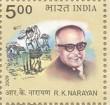 Postage Stamp on R.k.narayan
