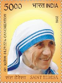 Postage Stamp on Saint Teresa