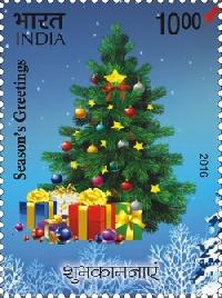 Postage Stamp on Season's Greetings