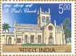 Postage Stamp on St. Pauls Church