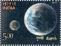 Indian Postage Stamp on THE SOLAR SYSTEM