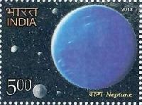Postage Stamp on THE SOLAR SYSTEM