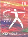 Postage Stamp on Xix Commonwealth Games