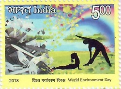 Indian Postage Stamp on World Environment Day