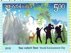 Postage Stamp on World Environment Day